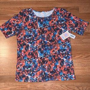 Lularoe Gigi floral blouse plus